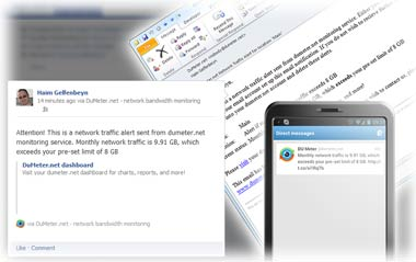 dumeter.net alerts: Email, Twitter